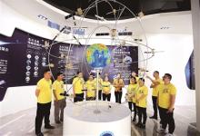 我国在轨卫星超过200颗 空间信息技术展神威