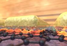 石墨烯相关材料将光限制到原子水平