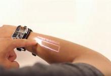 一款投影触控智能手表