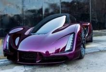 充满未来感的3D打印超级轿跑