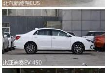 北汽EU5/秦EV450/吉利帝豪EV450该选谁?