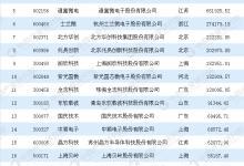 2017年集成电路行业A股上市公司收入排行榜
