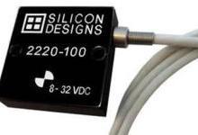 Silicon Designs推出直流响应加速度计