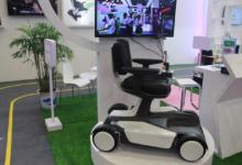 金瑞麒智能车展示低速自动驾驶+机器人底盘控制