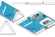 摩托罗拉可折叠手机专利曝光