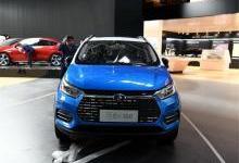 比亚迪元EV360全新龙脸龙须很显中国风