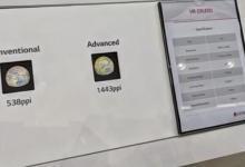 LG谷歌推出OLED屏刷新VR与AR