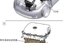 启辰晨风&日产聆风电动汽车构造