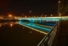 外秦淮河夜景照明亮灯 完整呈现南京夜印象