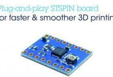 电机驱动板使开源3D打印机性能最大化