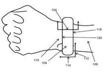 苹果新专利:腕表上的传感器测量血压
