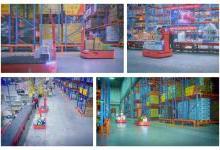 AICRobo仓储拣运机器人助力智慧仓储