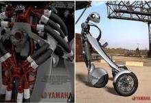 颠覆传统!雅马哈推出可穿戴摩托车