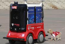 京东智能无人车产业基地进一步落地