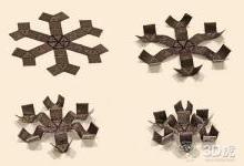MIT创建可用磁铁操作的柔软3D打印结构