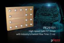 pSemi推用于固态LiDAR的GaN FET驱动器