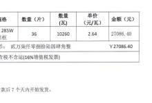 全面解读三季度光伏组件价格走势