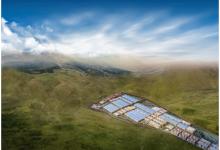 比亚迪巨型电池工厂下线