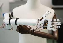 新型人造智能皮肤或可打造触觉机器人