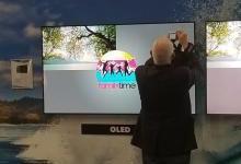 LG OLED电视在国际展会期间公开烧屏