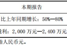 半年报预告:太龙照明预增 雷曼股份预减