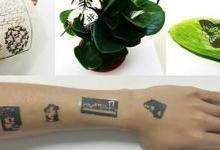 人造变色龙 中国研发电子纹身技术