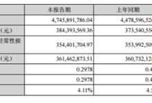 中材科技:上半年营收47.46亿,玻纤保持高景气