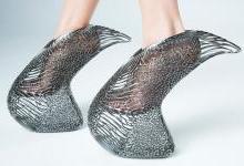 3D打印高跟鞋 前卫与舒适兼俱