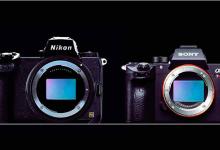尼康全画幅微单机身大小与其他相机对比