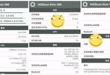 麒麟980参数曝光:7nm制程/24核残暴GPU