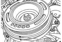 科鲁兹1.6/1.8发动机正时皮带拆卸要点