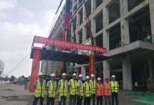 滁州惠科光电第8.6代项目首台天车设备顺利搬入