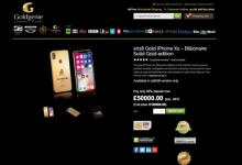 2018款iPhone 18K纯金定制版开始预订