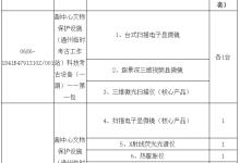 北京文物研究所采购二十余套显微镜设备