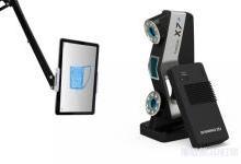 先临三维推出全新无线激光手持3D扫描仪