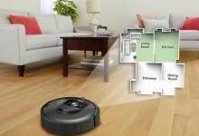 iRobot扫地机器人,自动垃圾倾倒和充电