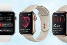 Apple Watch支持心电图功能