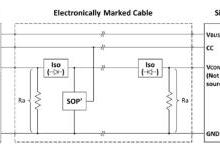 用于大电流PD快充电子标签线缆设计