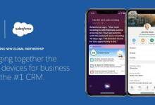 苹果和企业云计算公司Salesforce合作,将Siri带给企业客户