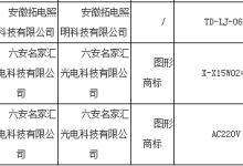 安徽省质监局抽查灯具产品合格率为100.0%
