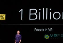 Facebook再立1000万VR用户为小目标