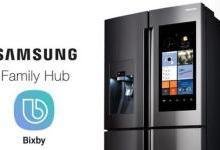 三星发布新款智能冰箱 搭载AI语音助手