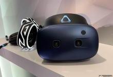 HTC发布新头显:内置眼球追踪功能