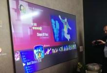 长虹三色4K激光电视C7UT亮相CES
