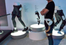 三星机器人和外骨骼,暗示护理发展方向