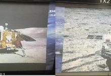"""嫦娥四号传回""""旅行照"""" 首张照片值得一声""""哇"""""""