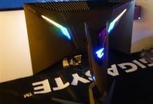 技嘉CES2019上首次展示Aorus显示器