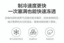 小米生态链企业再出新品 云米双门冰箱