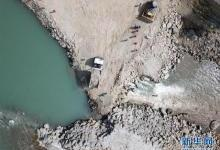 中企投建的巴基斯坦SK水电站工程成功截流