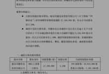 福斯特:同德实业拟减持约1%股份
